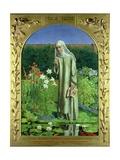 Convent Thoughts, 1850-51 Reproduction procédé giclée par Charles Alston Collins
