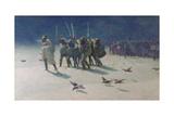 The Ravager Giclee-trykk av John Charles Dollman