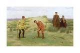 During the Time of the Sermonses, 1896 Giclee-trykk av John Charles Dollman