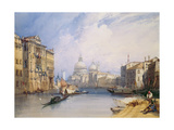 The Grand Canal, Venice, 1879 Giclee Print by William Callow