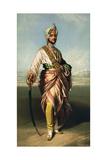 Duleep Singh, Maharajah of Lahore (1838-93), 1854 Lithographed by R.J. Lane Reproduction procédé giclée par Franz Xaver Winterhalter