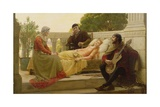 How Liza Loved the King, 1890 Giclee Print by Edmund Blair Leighton