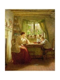 Musing on the Future, 1874 Giclee Print by George Smith
