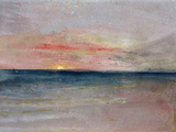 Sunset Giclée-tryk af J. M. W. Turner