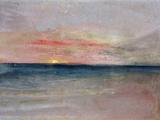 Sunset Giclée-Druck von J. M. W. Turner