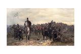 The Return from Inkerman in 1854, 1877 Gicléetryck av Lady Butler