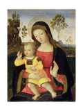 The Virgin and Child, 15th Century Giclée-tryk af Bernardino di Betto Pinturicchio