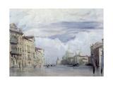 The Grand Canal, Venice Giclee Print by Richard Parkes Bonington
