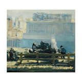 Blue Mornings Giclee Print by George Wesley Bellows