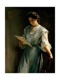 Reading the Letter Giclee Print by Thomas Benjamin Kennington