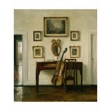 The Music Room Gicléetryck av Carl Holsoe