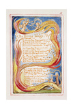 The Divine Image: Plate 18 from 'Songs of Innocence and of Experience' C.1815-26 Giclée-Druck von William Blake