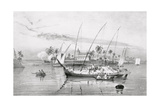 T1238 the Island of Itaparica, Brazil, Engraved by Leon Jean Baptiste Sabatier (Fl.1827-87) and… Giclee Print by Johann Moritz Rugendas
