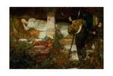 Sleeping Beauty Giclee Print by Edward Frederick Brewtnall
