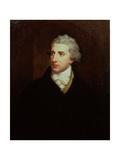 Portrait of Robert Stewart, Viscount Castlereagh (1769-1822) Giclée-tryk af Hugh Douglas Hamilton