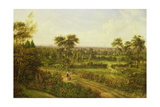 View of London from Denmark Hill Giclée-tryk af Alexander Nasmyth