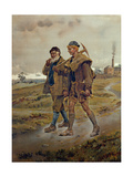 Going Home, 1889 Giclee Print by Ralph Hedley
