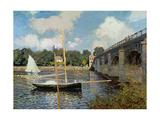 The Seine at Argenteuil Impressão giclée por Claude Monet