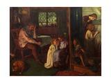 Bedtime, 1862 Giclee Print by Arthur Hughes