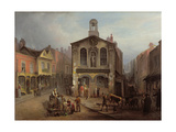 The Old Moot Hall, Leeds, C.1825 Giclee Print by Joseph Rhodes