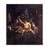 The Feast of Bacchus, 1654 Giclee Print by Phillips de Koninck