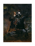 Ballad of Leonore, 1839 Giclee Print by Emile Jean Horace Vernet