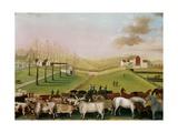 The Cornell Farm, 1848 Giclee-trykk av Edward Hicks