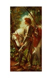 Sir Galahad Reproduction procédé giclée par George Frederick Watts