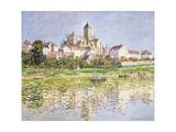 The Church at Vetheuil, 1880 Impressão giclée por Claude Monet