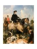 Queen Victoria in Windsor Home Park, 1865 Giclée-tryk af Edwin Henry Landseer