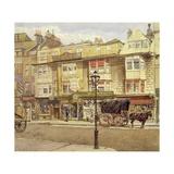 Bishopsgate Street Without Impressão giclée por John Crowther