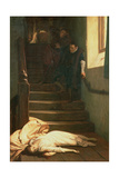 The Death of Amy Robsart in 1560, 1879 Giclee Print by William Frederick Yeames