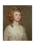 Portrait of a Young Woman, C.1790 Giclee Print by Philip Reinagle
