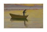 Aalestangeren Gicléetryck av Michael Peter Ancher
