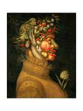 Summer, 1573 Giclée-tryk af Giuseppe Arcimboldo