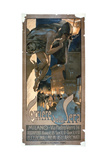 Poster Advertising the 'Corriere Della Sera', Printed in Milan, 1898 ジクレープリント : アドルフォ・ホーヘンスタイン
