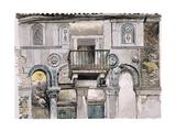 Fondaco Dei Turchi, Venice Giclee Print by John Ruskin