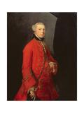 Portrait of Robert Shafto, Called 'Bonnie Bobbie Shafto' Giclee-trykk av Sir Joshua Reynolds