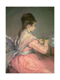 Bouquet of Violets Giclee-trykk av Eva Gonzales