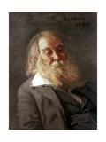 Portrait of Walt Whitman, 1887 Giclee-trykk av Thomas Cowperthwait Eakins