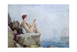 The Siren, 1888 Giclée-Druck von Edward Armitage