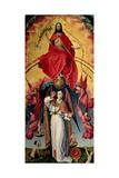 St. Michael Weighing the Souls, from the Last Judgement, C.1445-50 Reproduction procédé giclée par Rogier van der Weyden