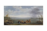 The Calling of St. Peter and St. Andrew, C.1626-30 Giclée-tryk af Pietro Da Cortona