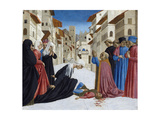 The Miracle of St. Zenobius, 1442-48 Giclée-tryk af Domenico Veneziano