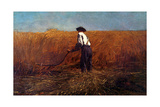 The Veteran in a New Field Giclee Print by Winslow Homer
