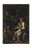 Human Frailty, C.1656 Giclée-tryk af Salvator Rosa