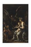 Human Frailty, C.1656 Giclee Print by Salvator Rosa
