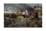 Wallenstein: a Scene of the Thirty Years War Giclee Print by Ernest Crofts