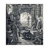 Death as Friend, 1851 Giclee Print by Alfred Rethel