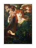 La Ghirlandata, 1873 Giclee-trykk av Dante Gabriel Rossetti